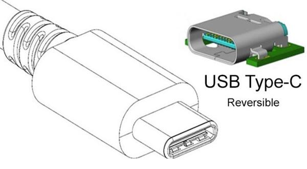 el puerto USB de tipo C